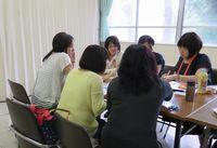 広報委員会 松陽祭ふれあい休憩室の準備