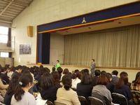 入学予定者説明会が行われました