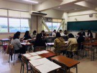 春の学級懇談会