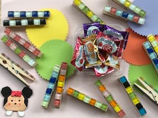 松陽祭(9/7~8)のお知らせ② 綺麗なタイルで作るマグネットピンチ