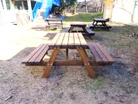 ガーデンテーブル購入させて頂きました