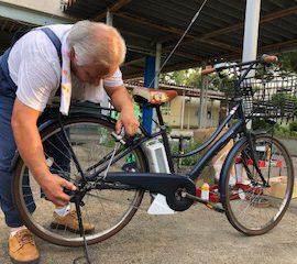 自転車点検会開催の報告(&県自転車条例情報)